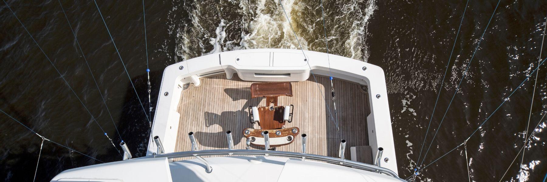 Stern of boat